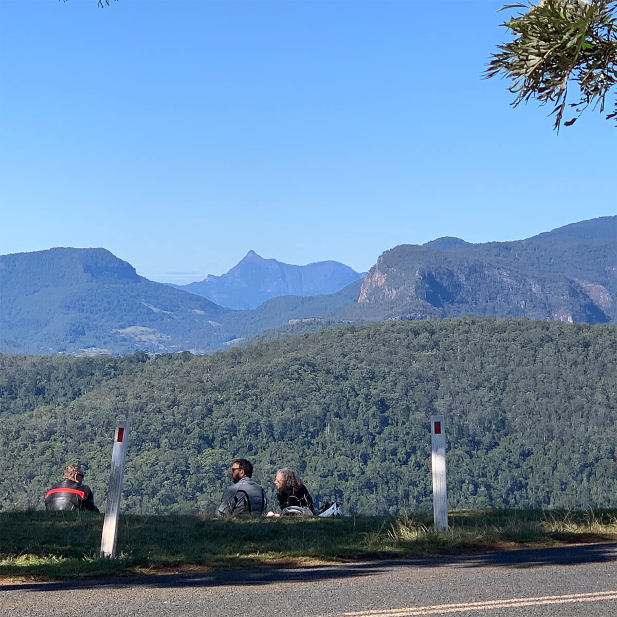 Rosin's Lookout Views to Wollumbin